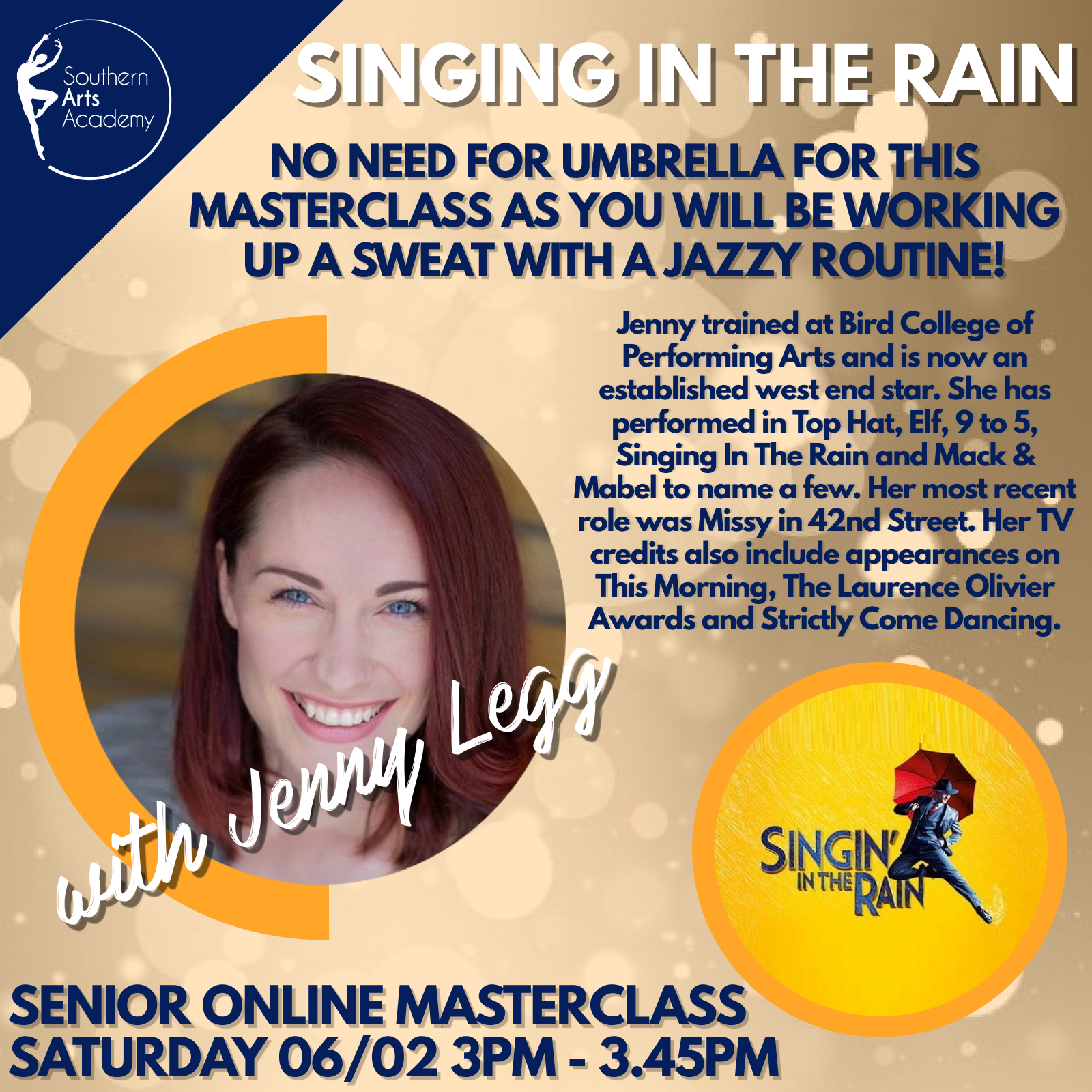 Singing In The Rain with Jenny Legg