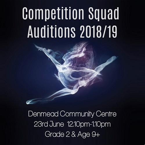 Auditions 2018